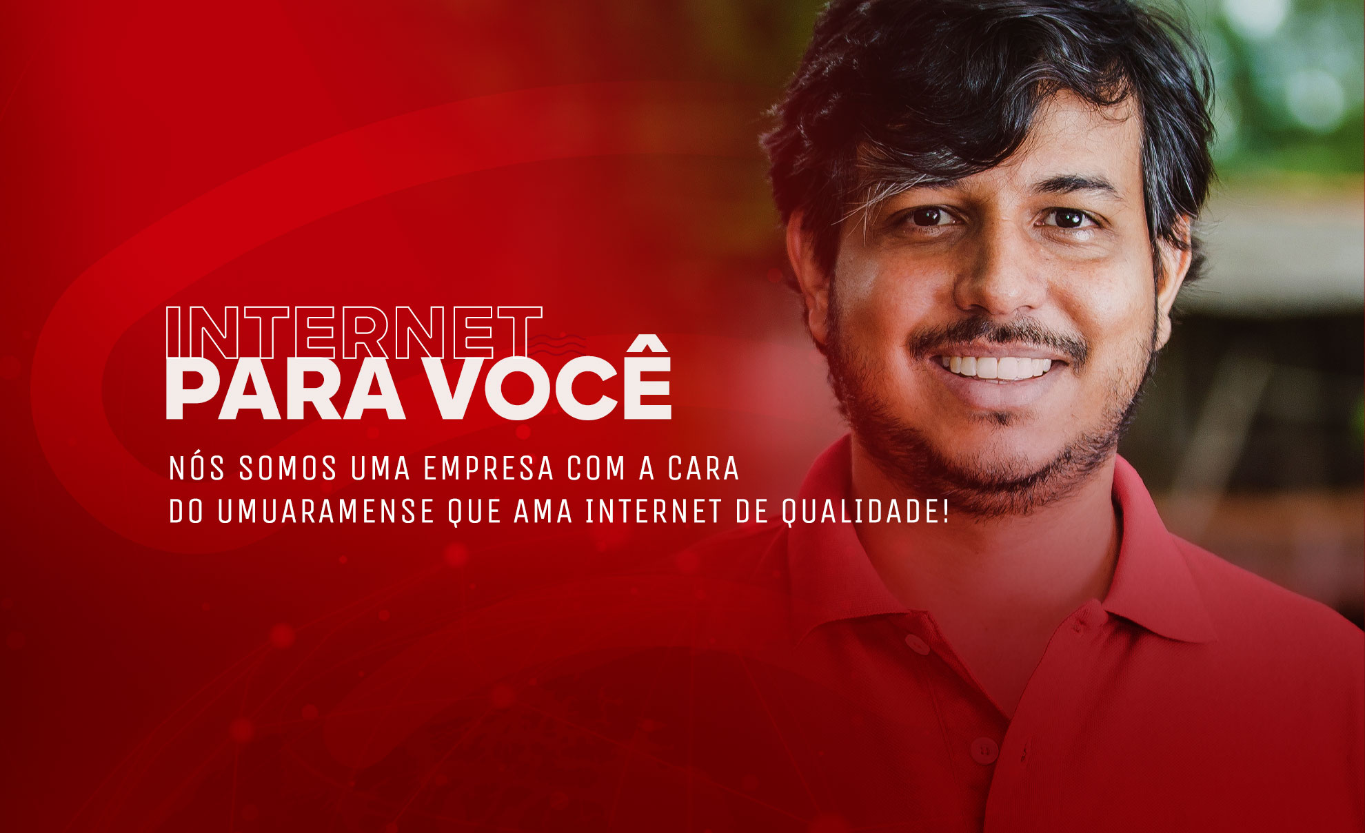 Slide - Internet com a cara do umuaramense
